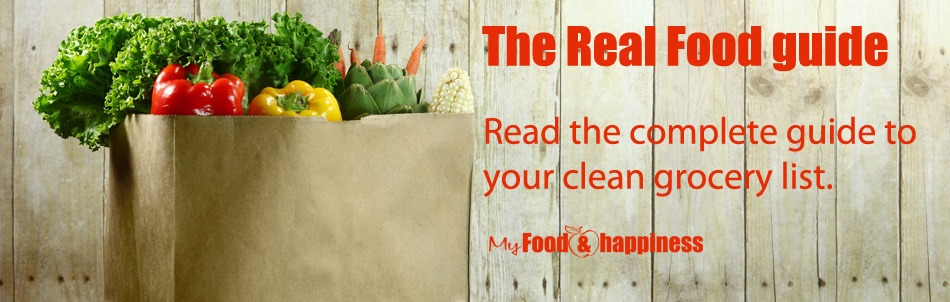 The real food guide - Free Healthy Eating guide to help you kick-start your REAL FOOD journey!. Start buying the right ingredients.