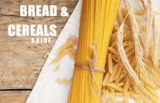 Free Healthy Eating guide to help you kick-start your REAL FOOD journey! Which foods are a source of carbohydrates? Bread, pasta, rice quinoa and breakfast cereals
