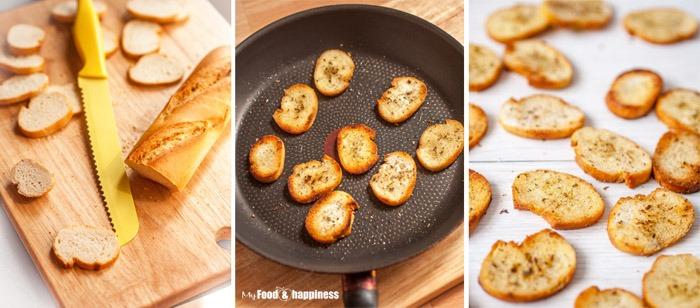 How to make bruschetta toast