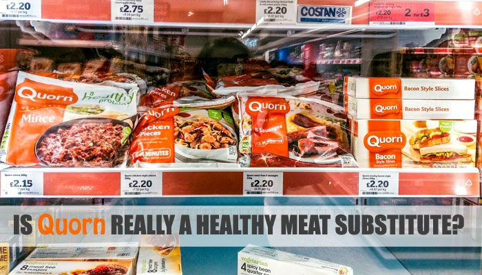 Is Quorn really a healthy meat substitute?