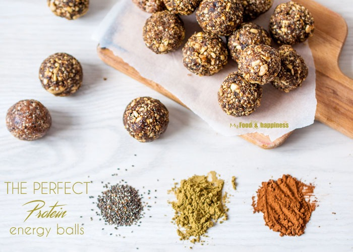 The Perfect Protein Energy ballsMy Food  Happiness