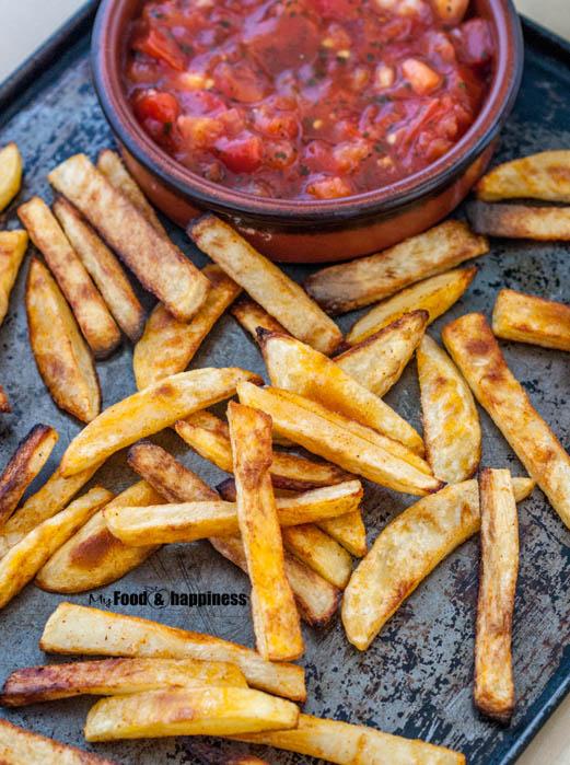 Crispy Oven Baked Potato Fries