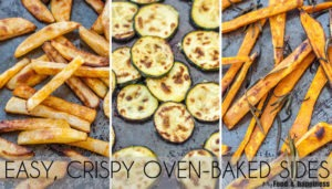 How to easily bake crispy fries and other veggies in the oven!