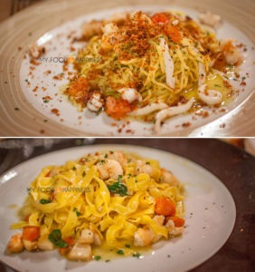 Italy In A Week Restaurant Recommendation Best Verona Seafood Pasta