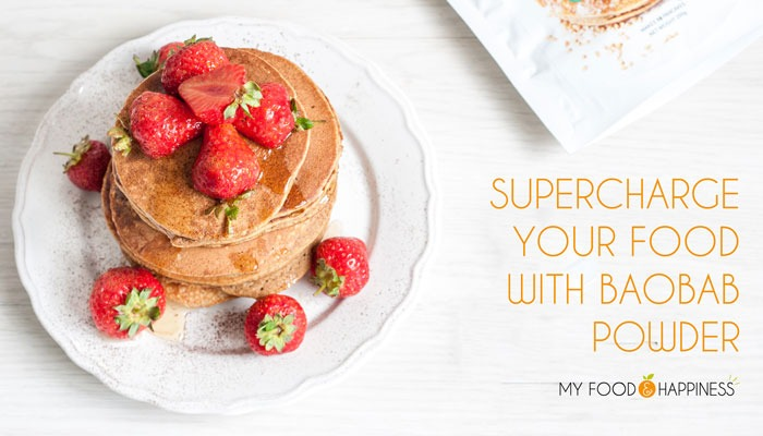 Supercharge your food with baobab powder + pancakes review