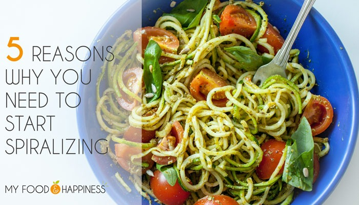 5 Reasons why you need to start Spiralizing in 2017 + Giveaway!