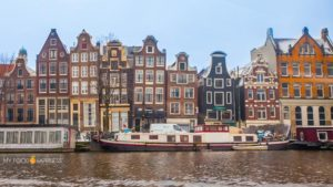 Why are Amsterdam's houses so skewed?