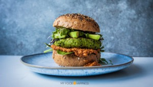 The Green Warrior Burger (Vegan, High-protein & GF)