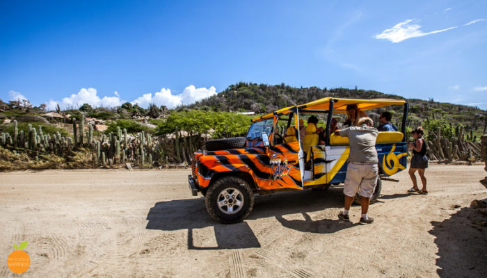 Aruba: Jeep Safari with Tequila (Video)