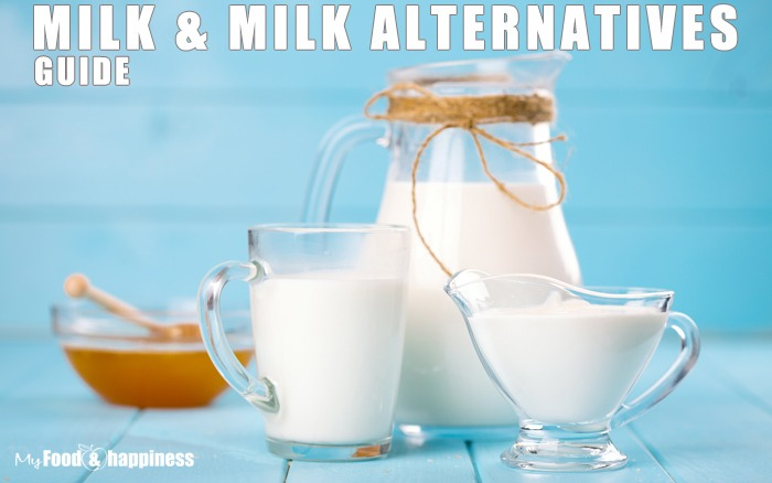 Whole milk vs skimmed? Milk alternatives health benefits.
