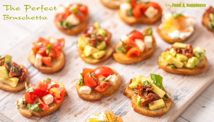 How to make The Perfect Bruschetta + topping ideas