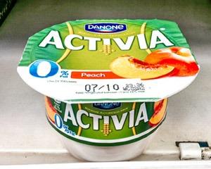 Bad fat free yogurts, why is Danone shape yogurt bad?