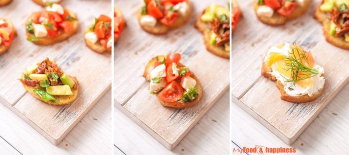 How to prepare crispy and thin bruschetta plus topping ideas