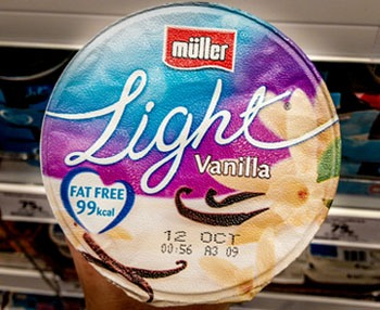 Bad fat free yogurts, why is muller light yogurt bad?