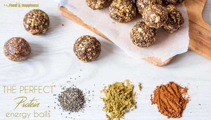 The Perfect Protein Energy balls