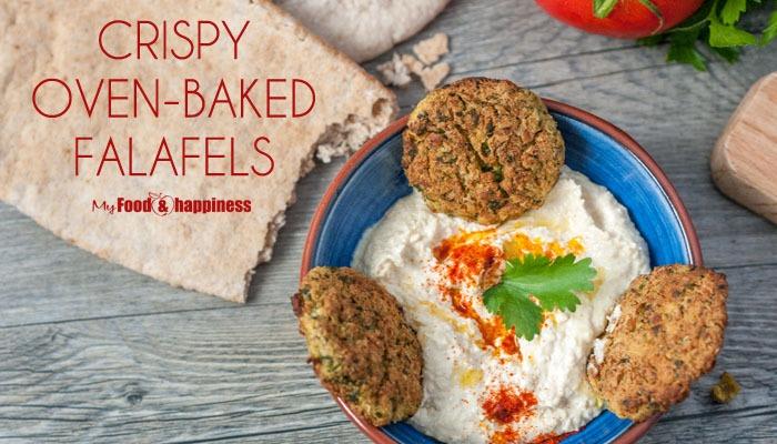 Crispy oven-baked Falafels