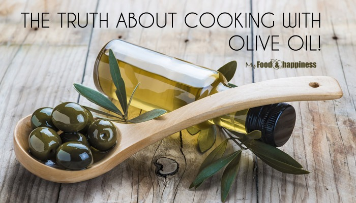 Can you cook with olive oil? The truth about cooking with olive oil.