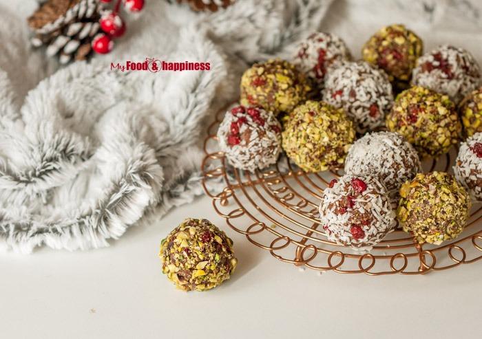 No Bake Ginger & cinnamon bliss balls 2