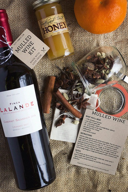 Ddible Christmas gifts - Mulled Wine kit