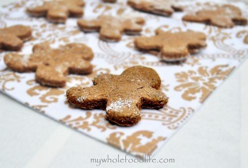 Edible Christmas gift ideas: Sugar-free Gingerbread cookies