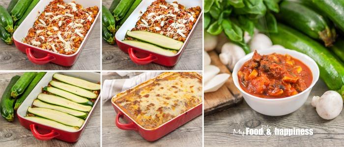 Healthy Gluten-free wheat-free vegetarian zucchini Lasagna FI noodle-free lasagna