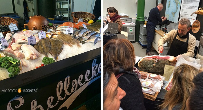 A day at the Borough market London. Foods to try in Borough market