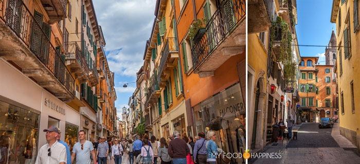 A week in Italy: Via Mazzini, Verona.