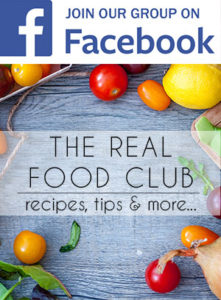 Join our group on Facebook where anyone can ask questions and participate in conversations about food and ask questions. We also share recipes and useful tips for healthy living.