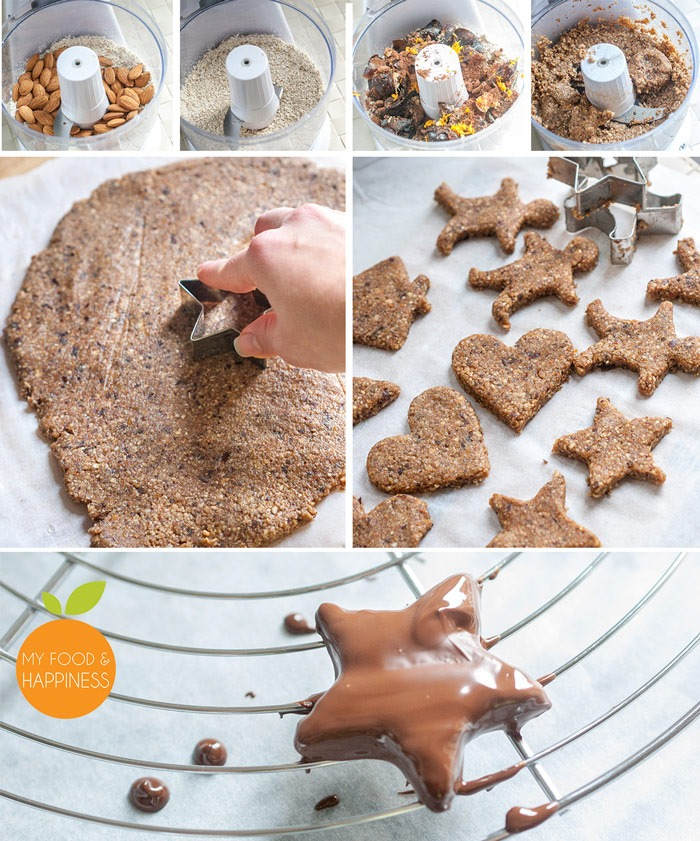 xmas-chocolate-gingerbread-cookies-collage