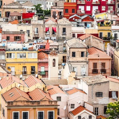 The colourful districts of Cagliari in a day, Sardinia