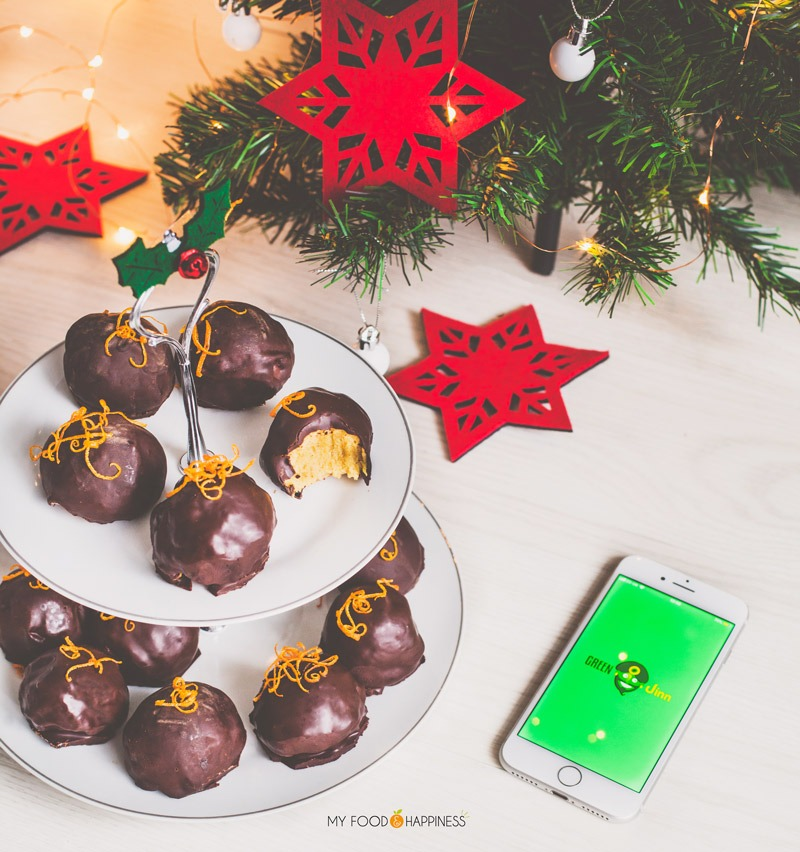Delicious, creamy vegan Orange & Cinnamon chocolate truffles, packed with winter flavours! This vegan dessert is ideal for your Christmas Eve dinner finale!