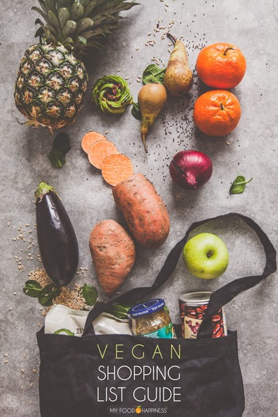 A complete guide with tips and a list of products you can buy in Tesco, Sainsbury's and Waitrose as a vegan! See what can go in your healthy vegan shopping list and how you can save money while shopping!