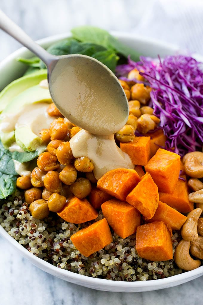 Healthy Vegan Mains - Buddha bowl