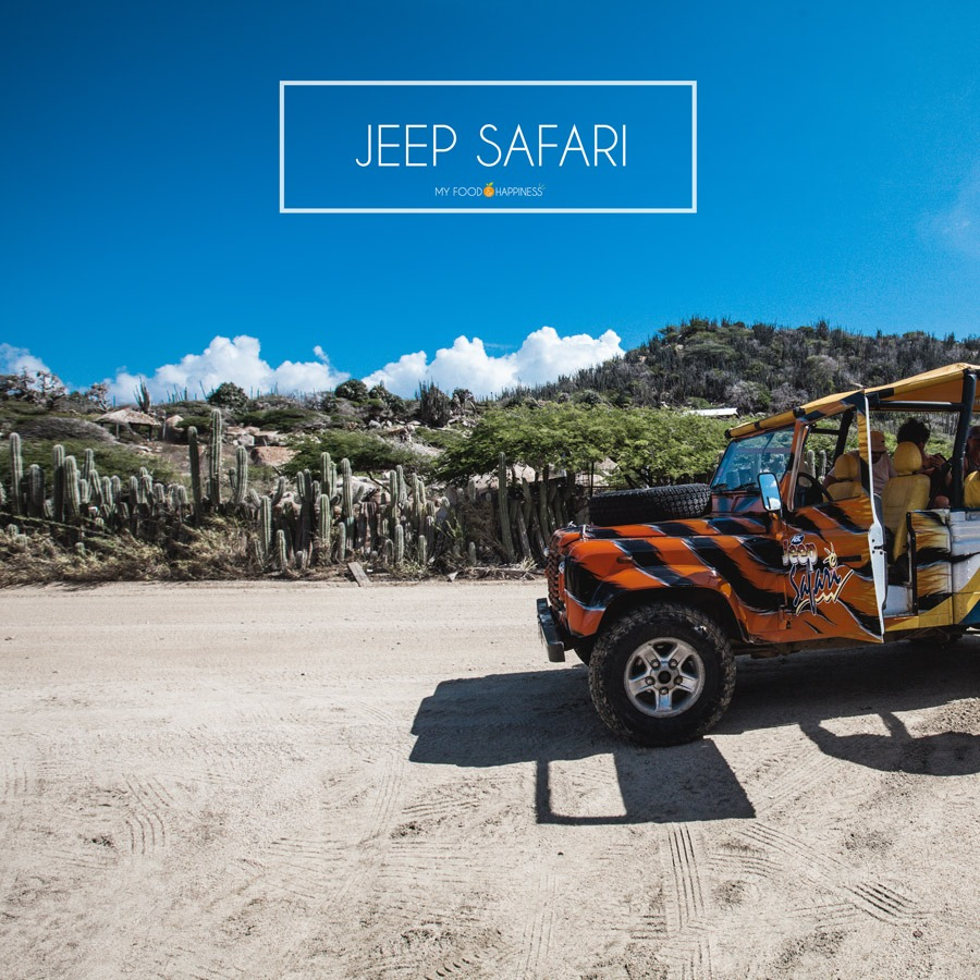 Discover Aruba's north coast with a jeep safari