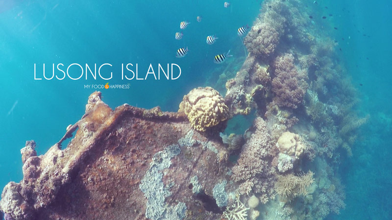 Lusong island and Lusong Coral garden: Top 10 islands in Coron. See which is the best island hopping tour in Coron and which are the most secluded paradise islands in Palawan, Philippines